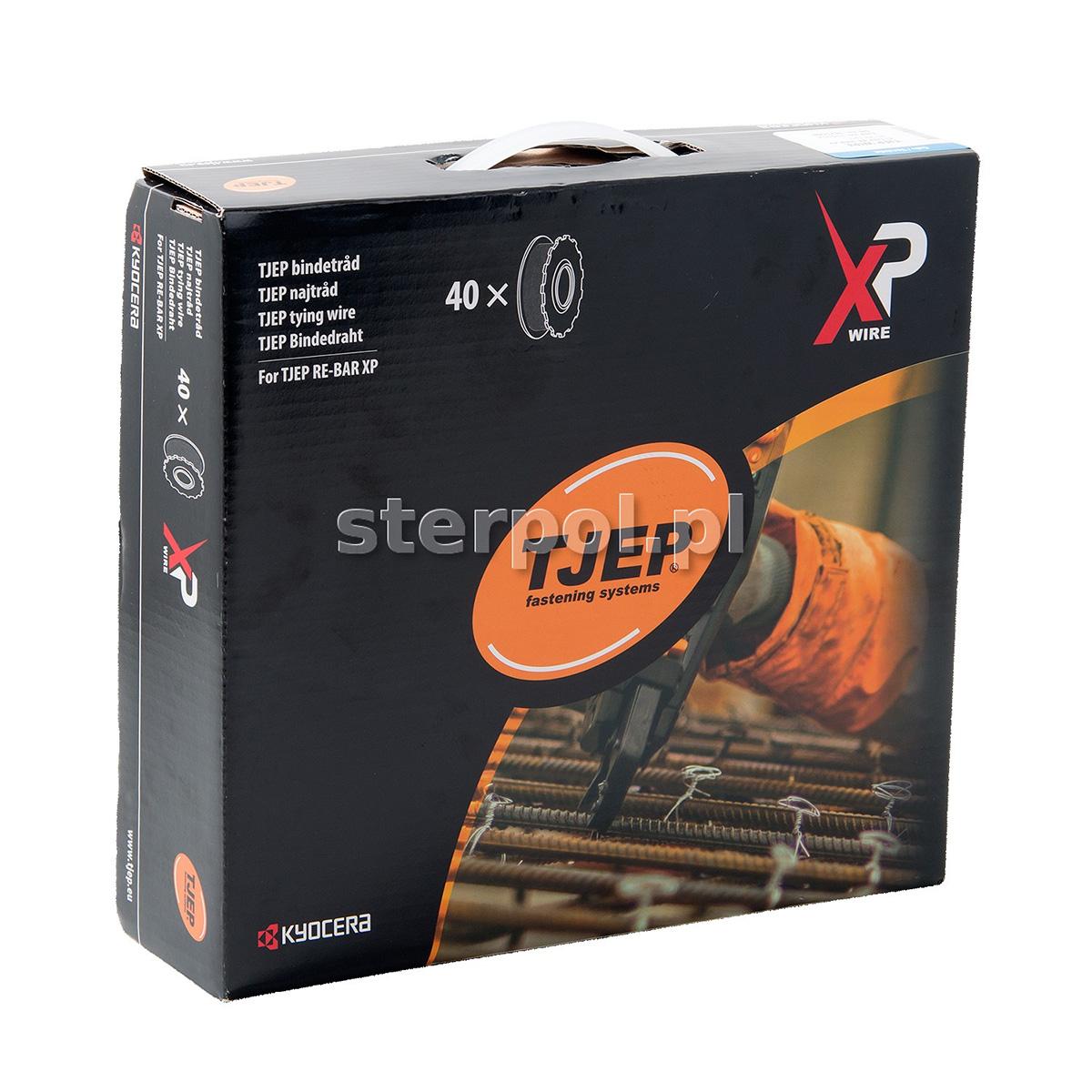 Drut wiązałkowy TJEP WIRE XP (40 szt.)