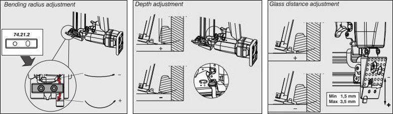 OMER 12.40 G Sztyfciarka przyszybowa pneumatyczna schemat